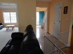 Hallway, Family room and Livning room
